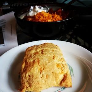 Corn Bread Biscuit